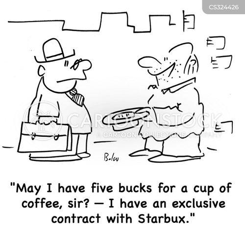 exclusive deal cartoon