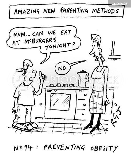 parenting techniques cartoon
