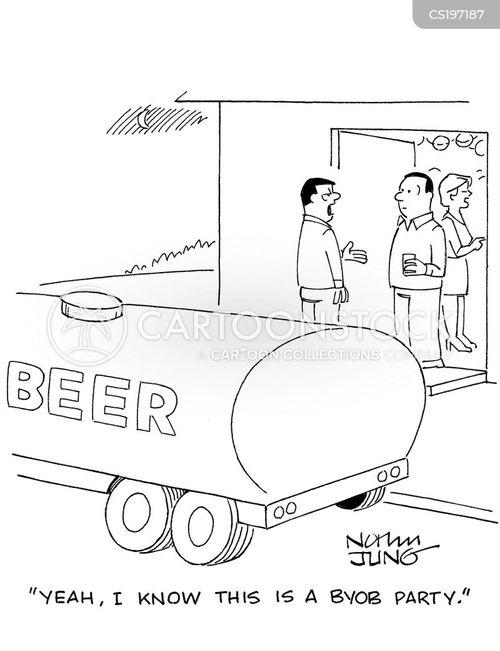 social event cartoon