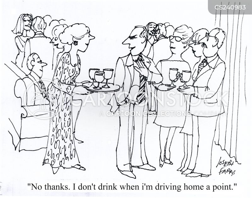 drink and drive cartoon
