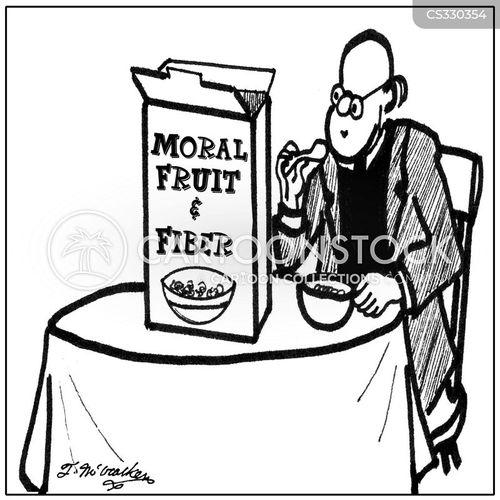 fruit and fiber cartoon