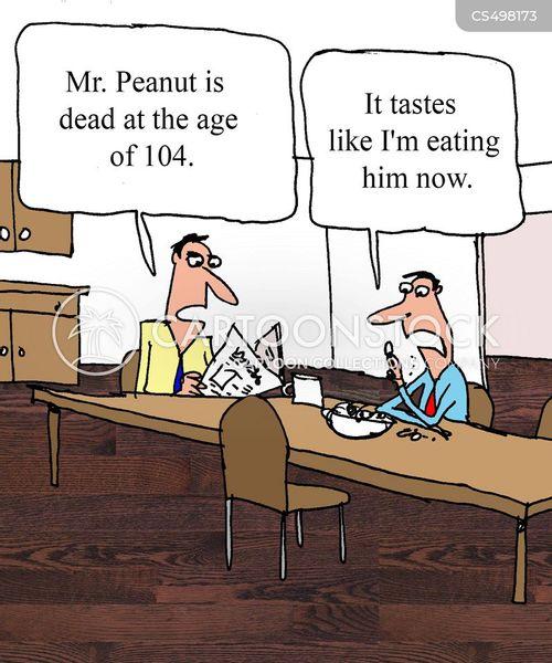 food company cartoon