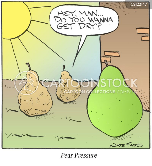 peer cartoon