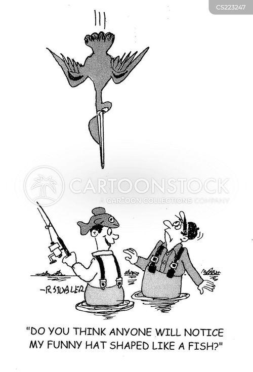 novelty hats cartoon