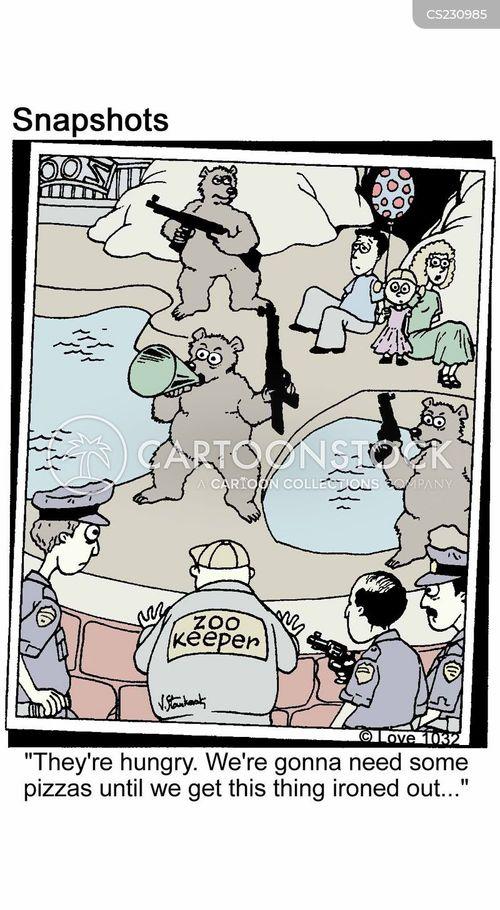 zoo-keeper cartoon
