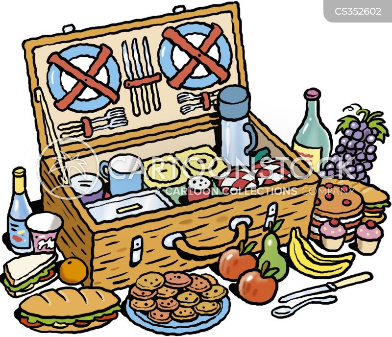 Picnic Basket Cartoons And Comics Funny Pictures From Cartoonstock