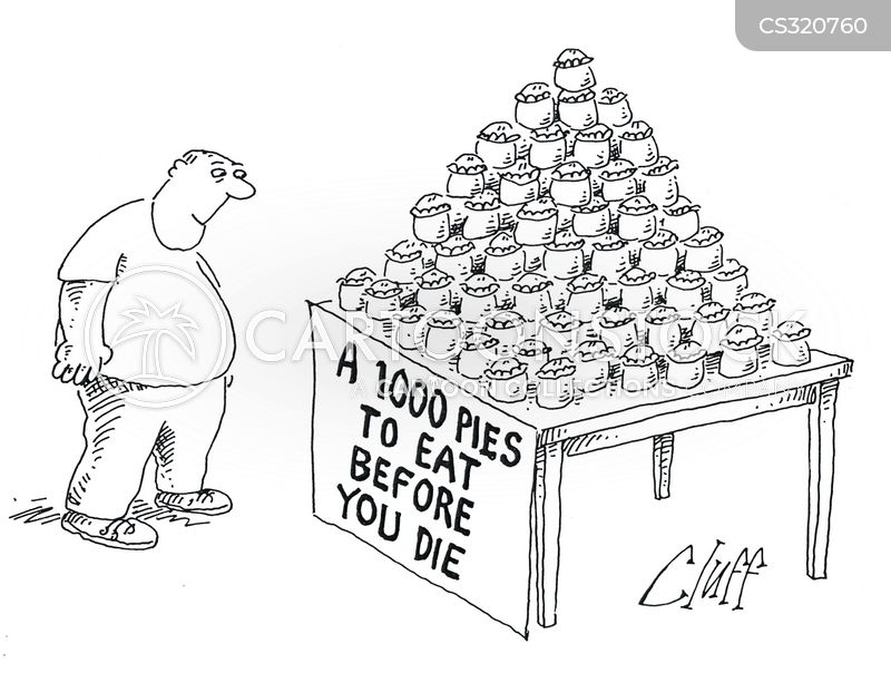 obesity dangers cartoon