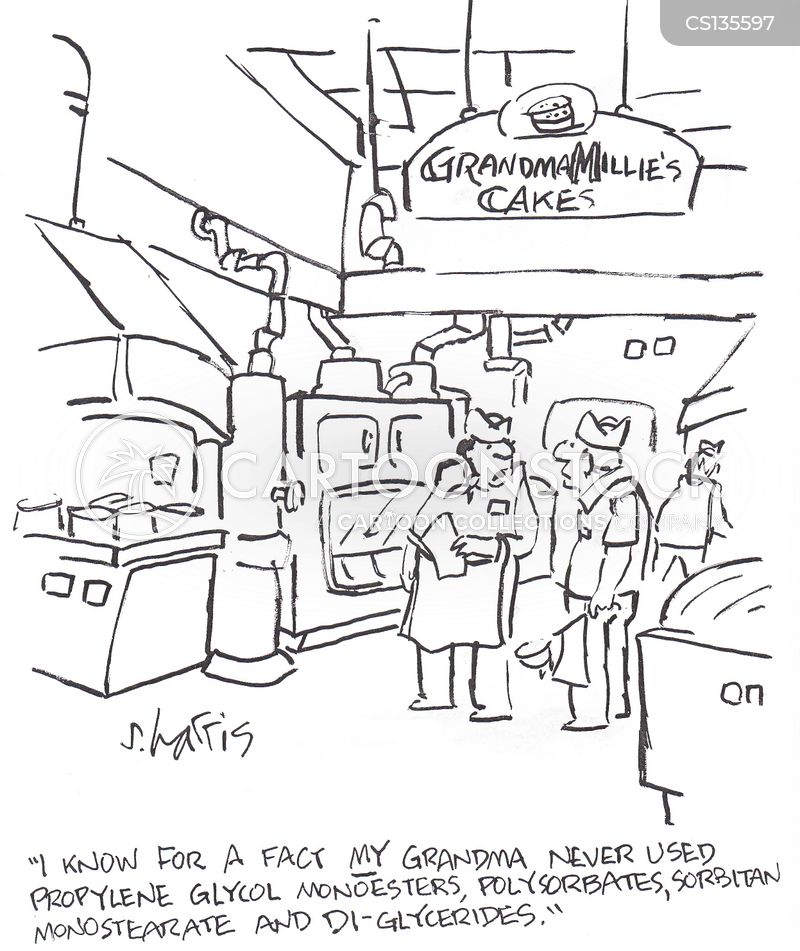 bakery cartoon