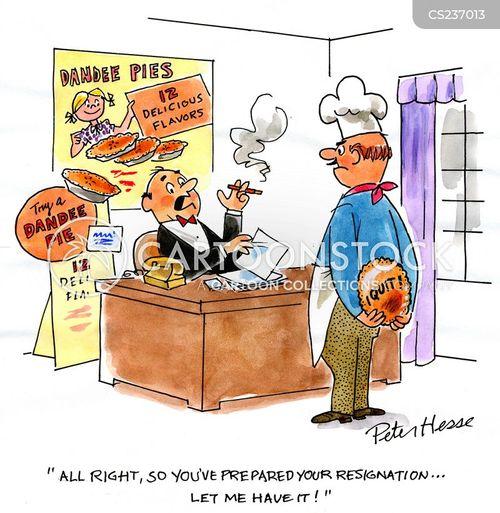 pie chefs cartoon