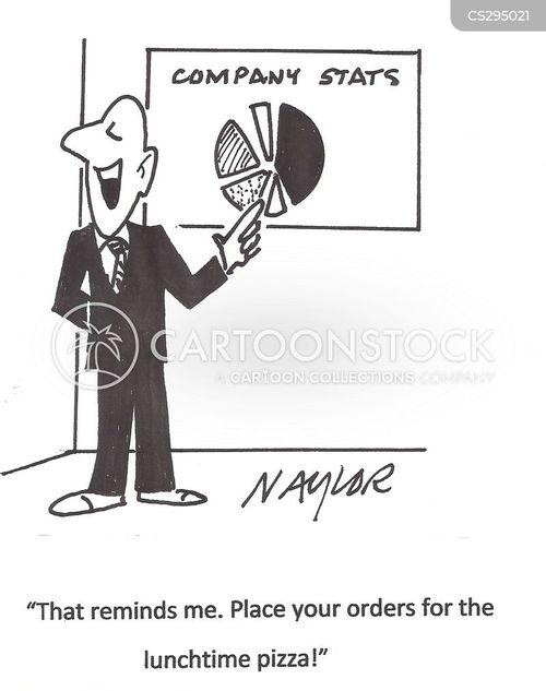 lunchtimes cartoon