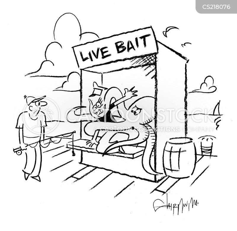 fishing industry cartoon