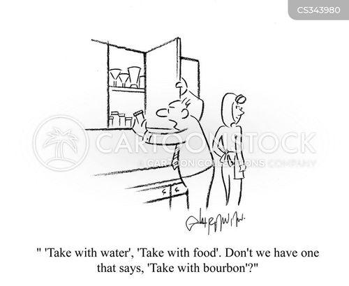 empty stomach cartoon