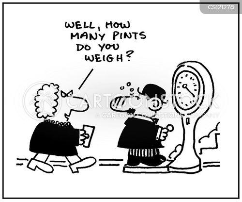 pint of beer cartoon