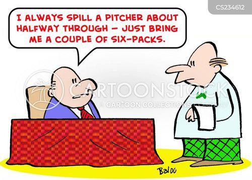 six-packs cartoon