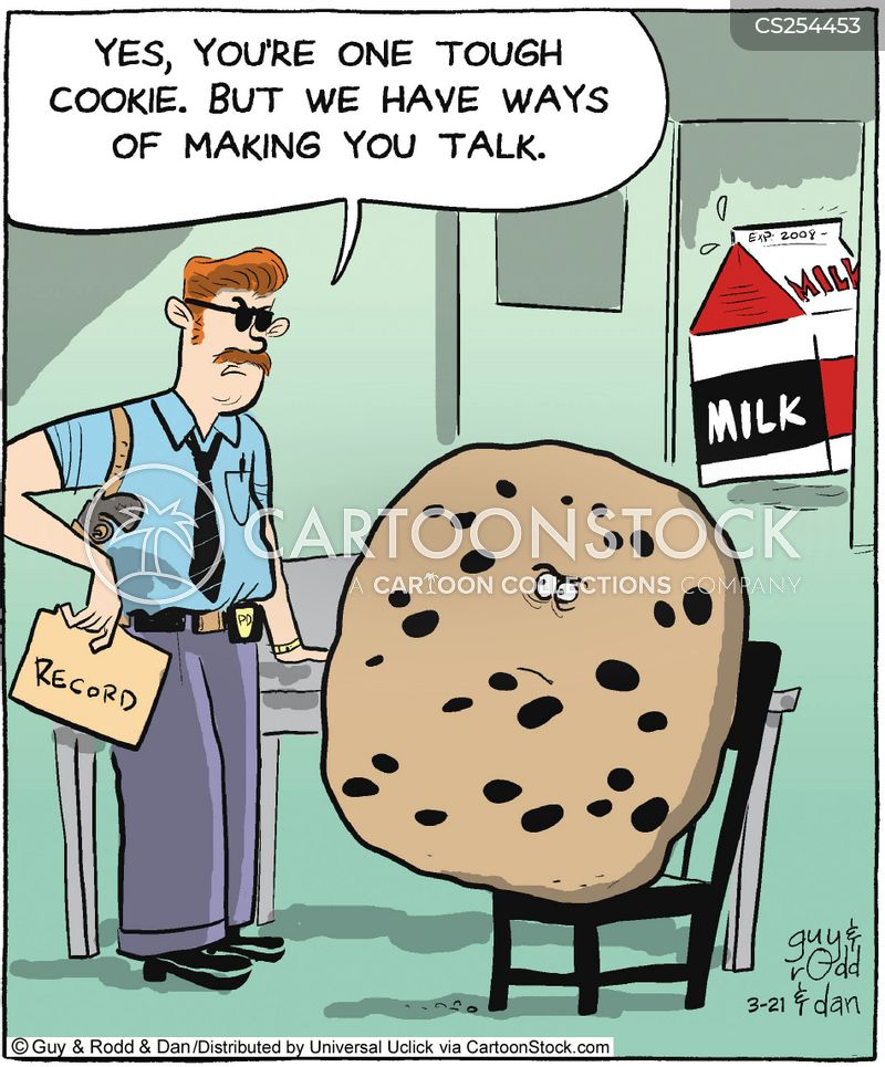 tough cookie cartoon