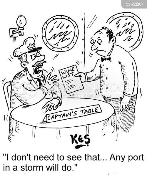 port cartoon