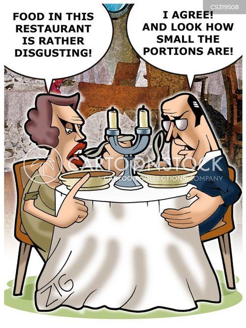 bad foods cartoon