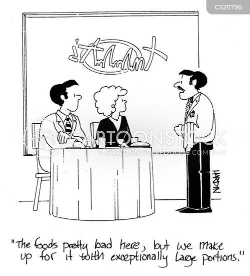 food quality cartoon