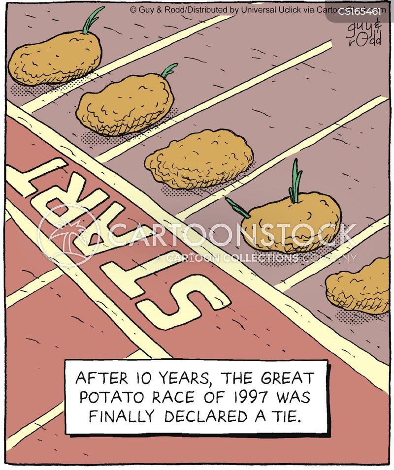 potatoes cartoon