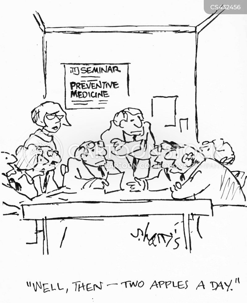 preventive medicine cartoon