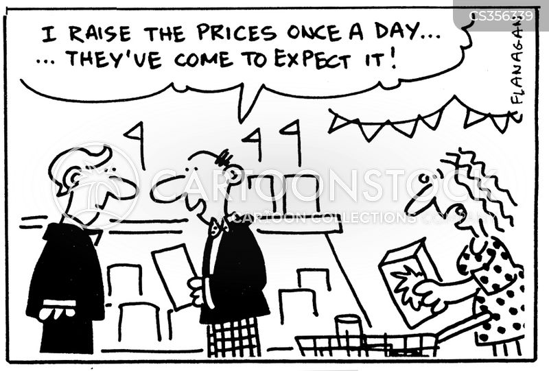 high price cartoon