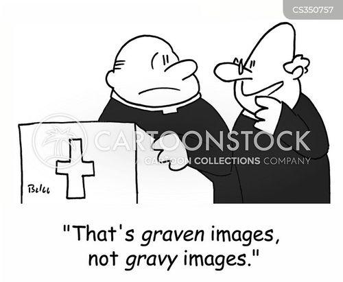 bible reading cartoon