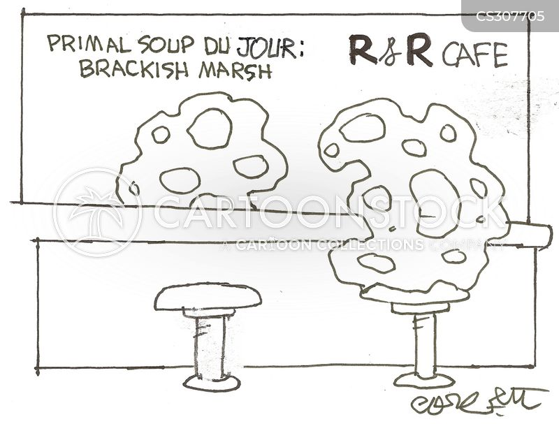 brackish water cartoon