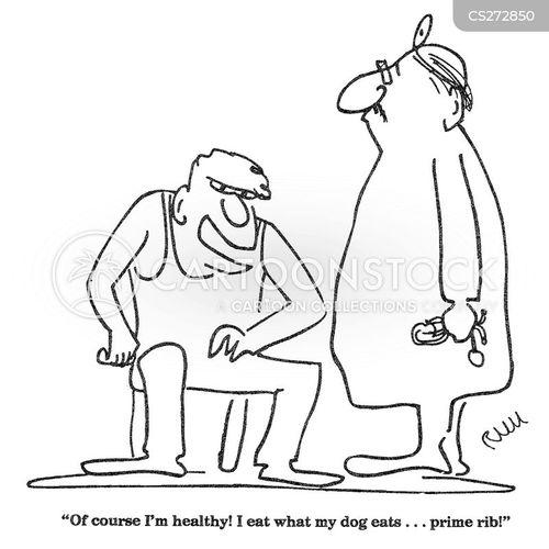 medical checkup cartoon