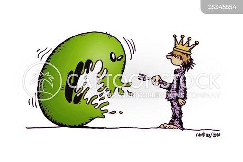 the princess and the pea cartoon