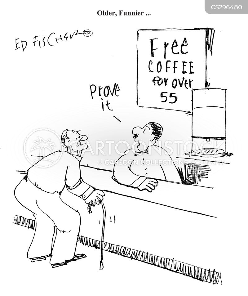 free coffee cartoon
