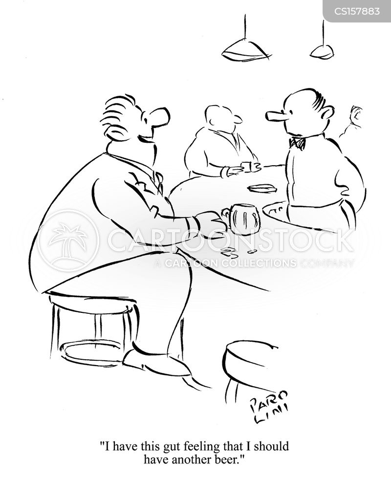 Gut Feeling cartoons, Gut Feeling cartoon, funny, Gut Feeling picture, Gut Feeling pictures, Gut Feeling image, Gut Feeling images, Gut Feeling illustration, Gut Feeling illustrations