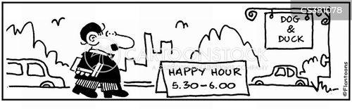 misleading advert cartoon