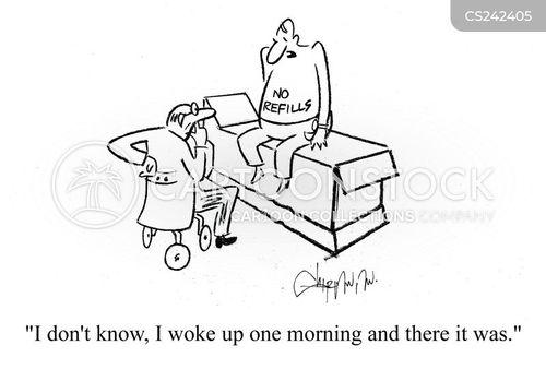 refilled cartoon