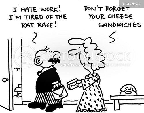 cheese sandwich cartoon