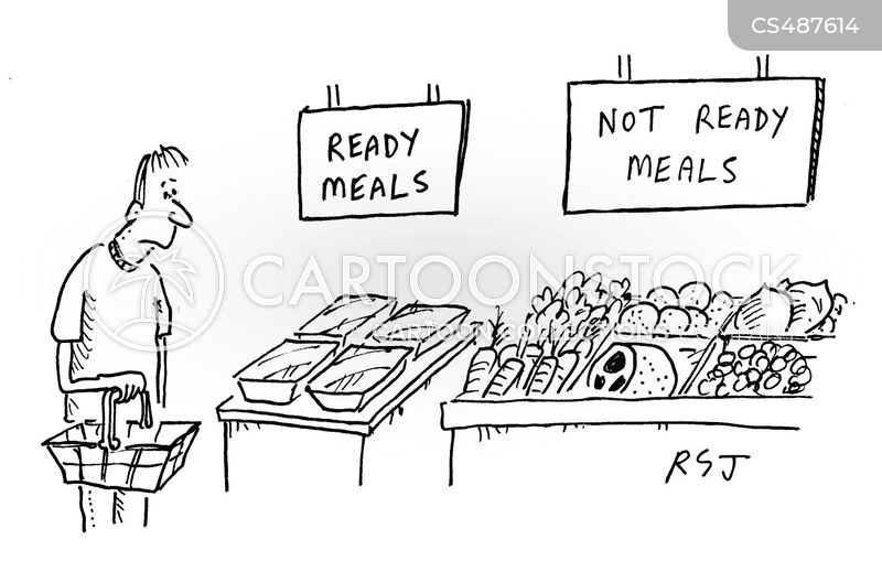 television meals cartoon