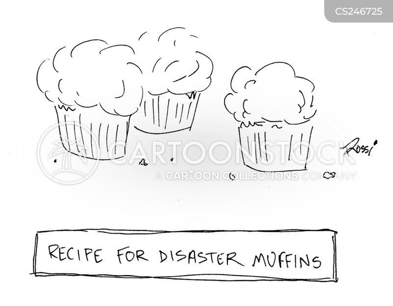 recipe for disaster cartoon