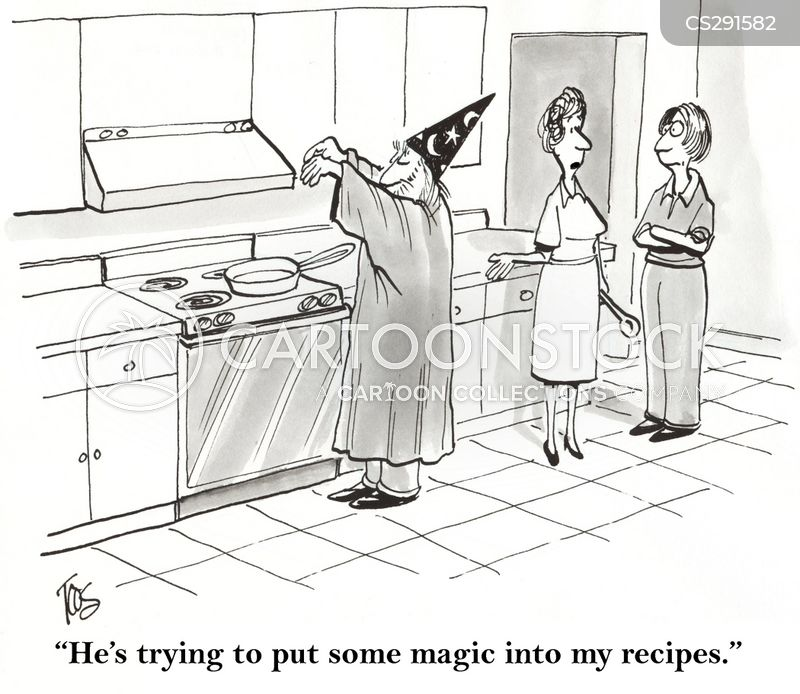cooking lesson cartoon