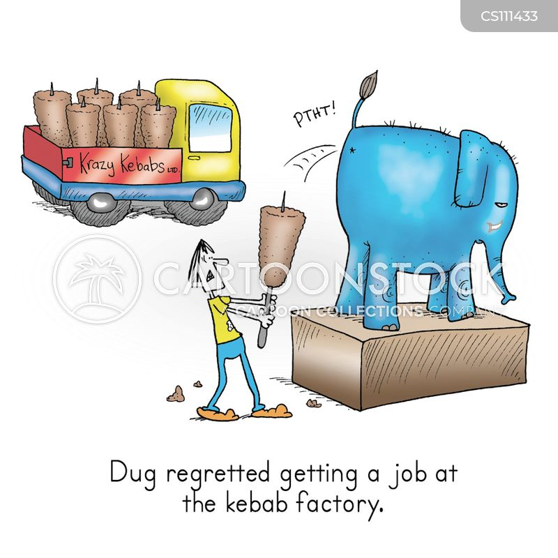 kebab cartoon