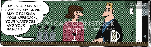 auto rejection cartoon