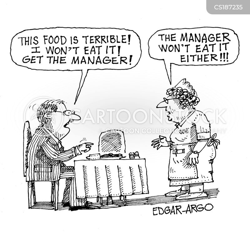 dinning cartoon