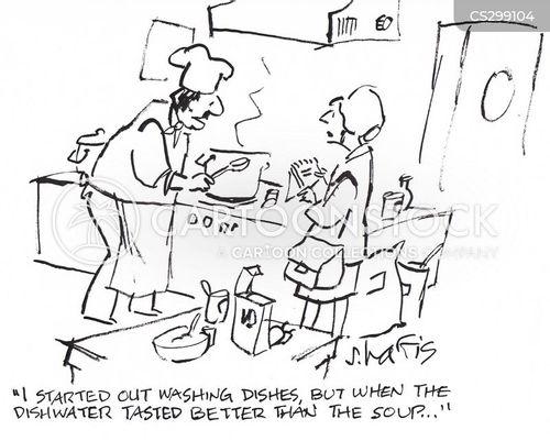 dish washer cartoon
