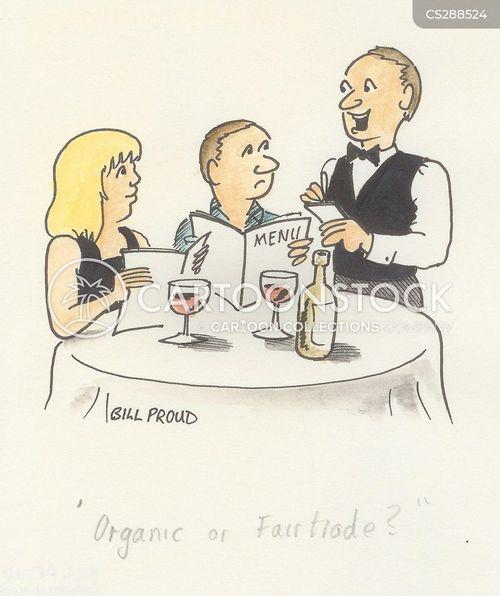 fairtrade food cartoon