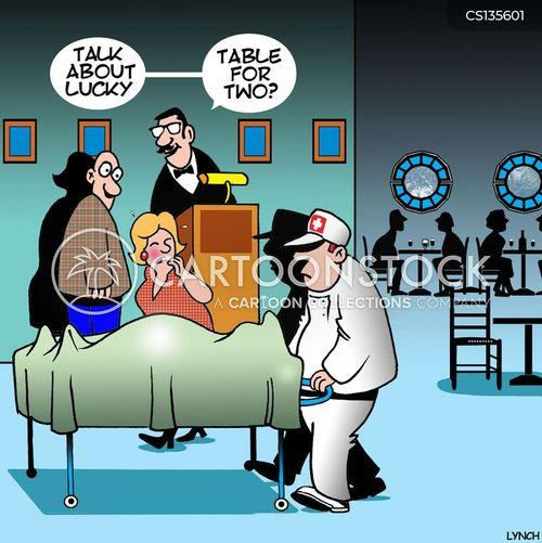 emergency worker cartoon