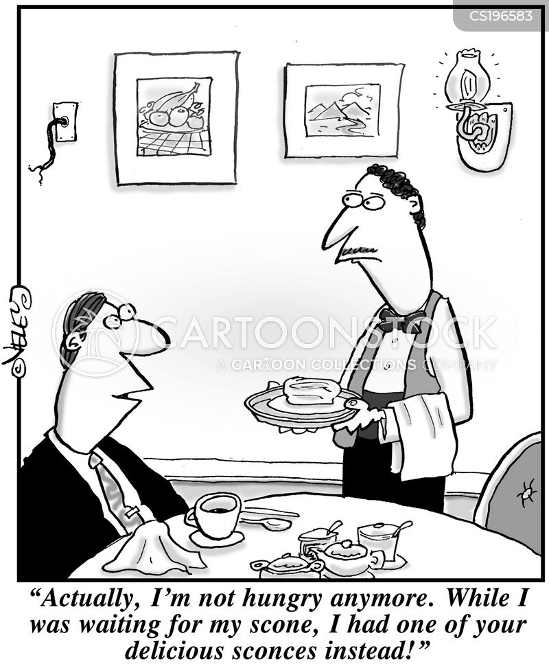 scones cartoon