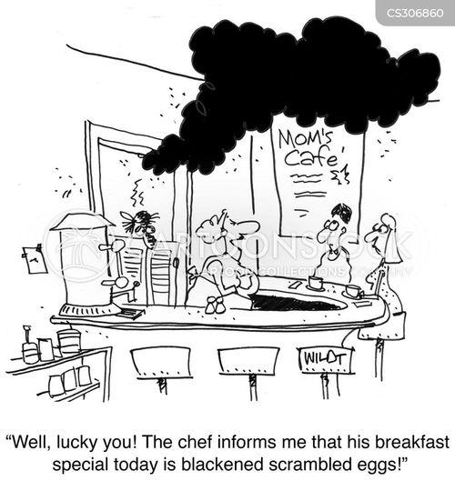 bad chef cartoon