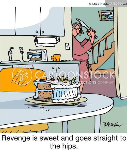 revengeful cartoon
