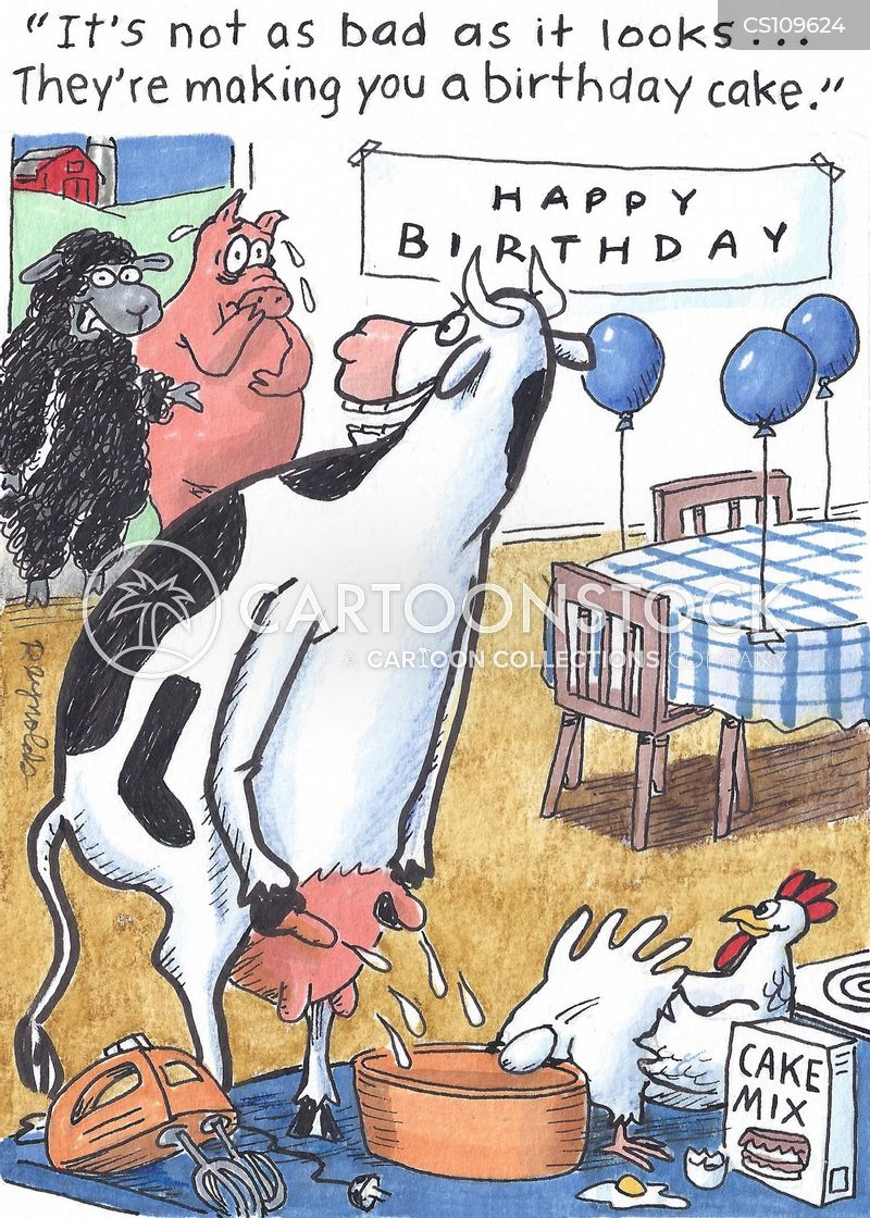 barnyard animal cartoon