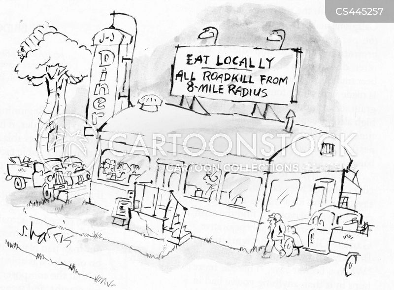 localvore cartoon