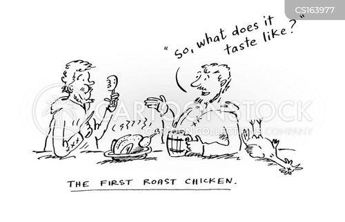 english cuisine cartoon