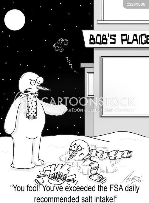 salt intake cartoon
